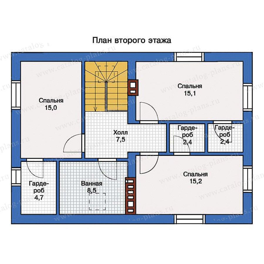 План 2-этажа проекта 57-13K