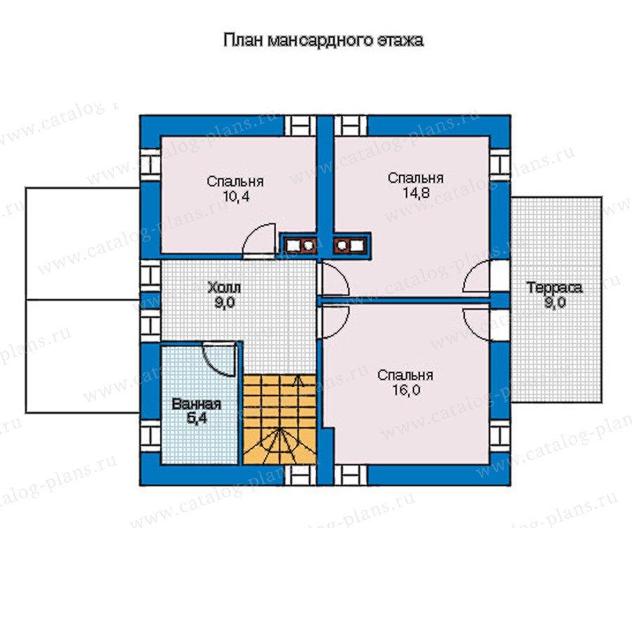 План 2-этажа проекта 56-94