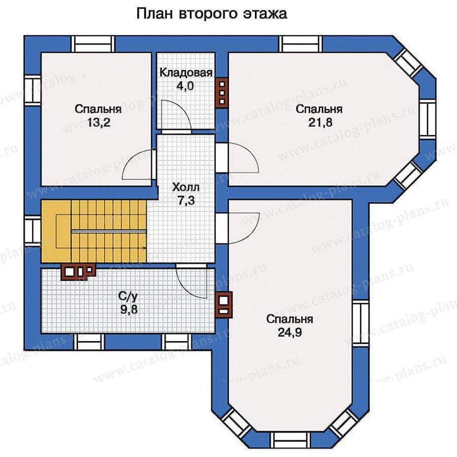 План 2-этажа проекта 56-97