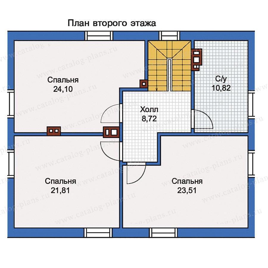 План 2-этажа проекта 56-99