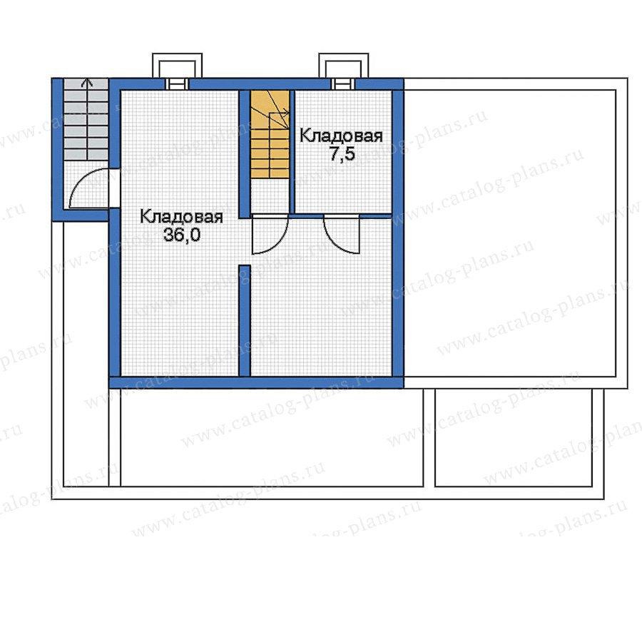 План 1-этажа проекта 70-20