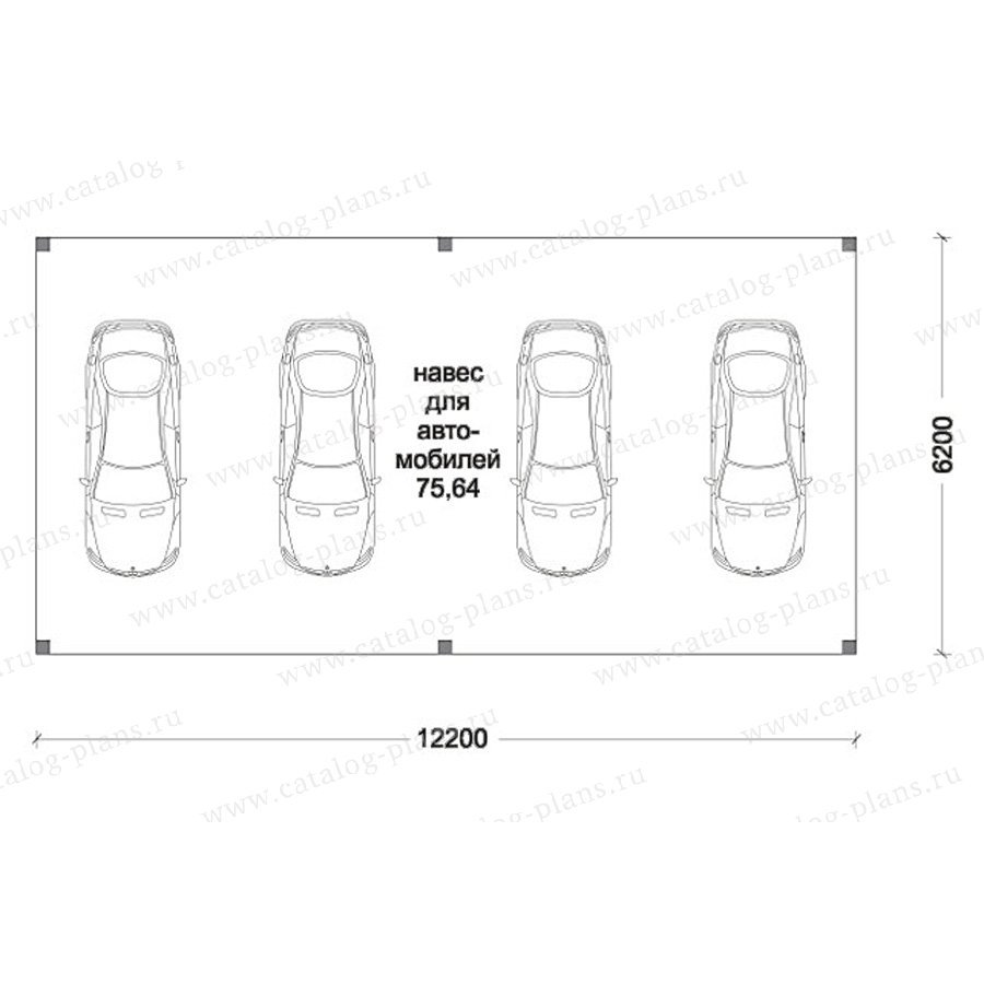 План 1-этажа проекта 70-47
