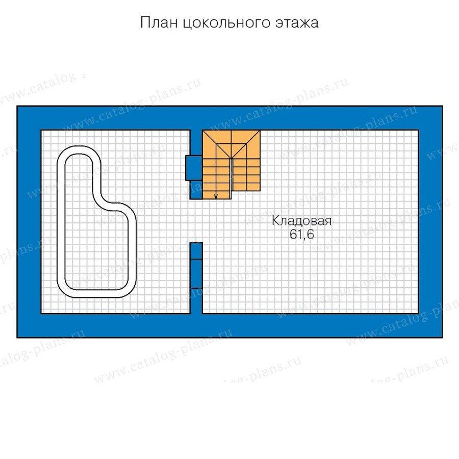 План 1-этажа проекта 90-39