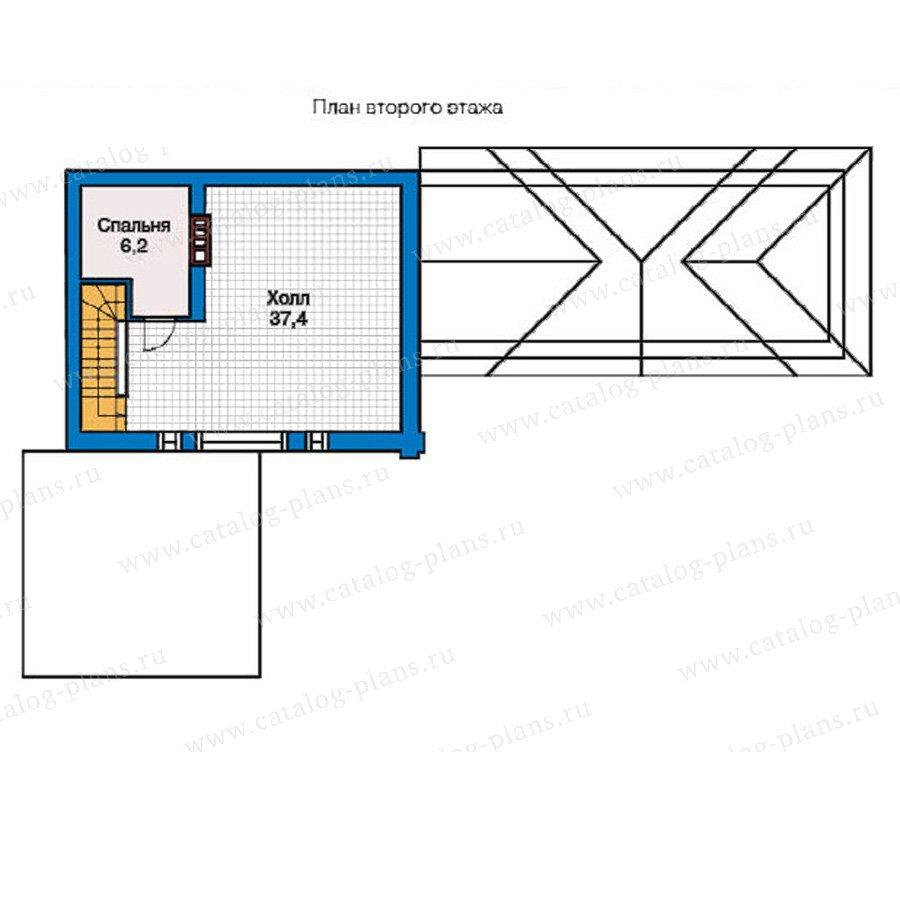 План 2-этажа проекта 59-02