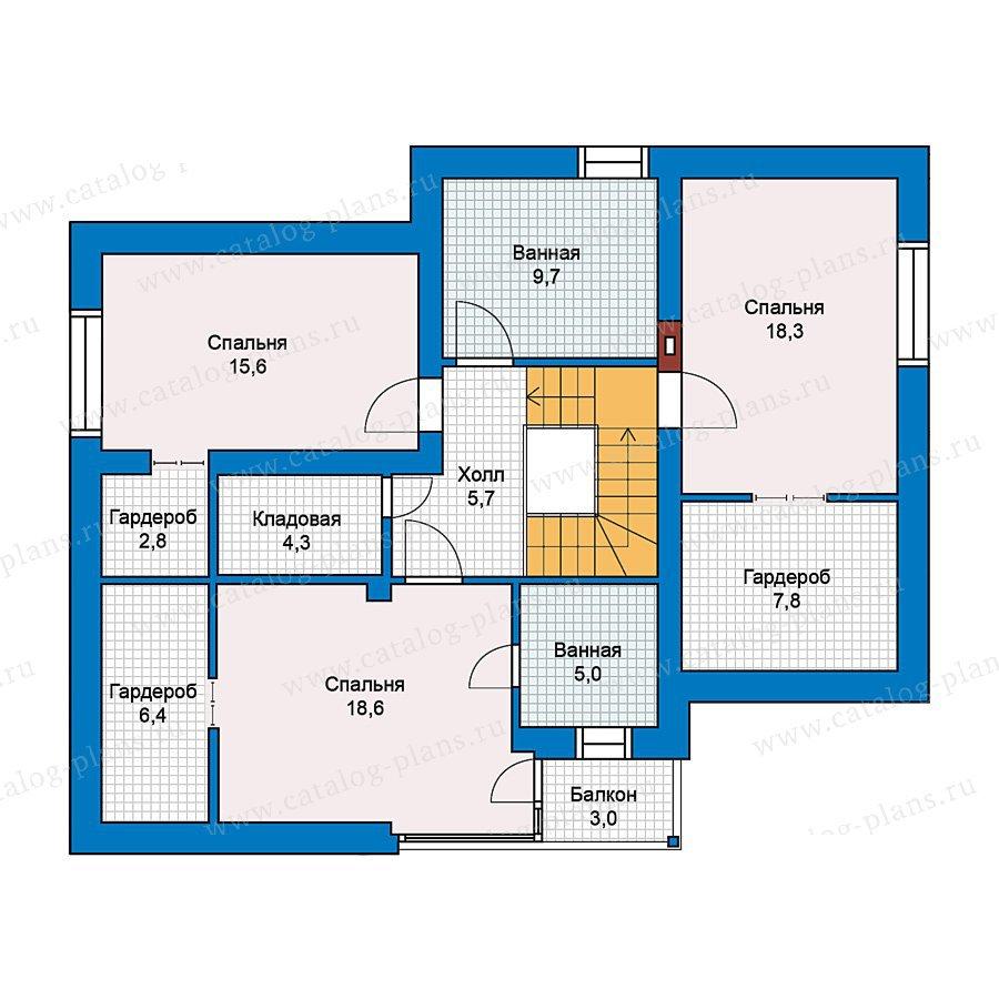План 2-этажа проекта 59-24