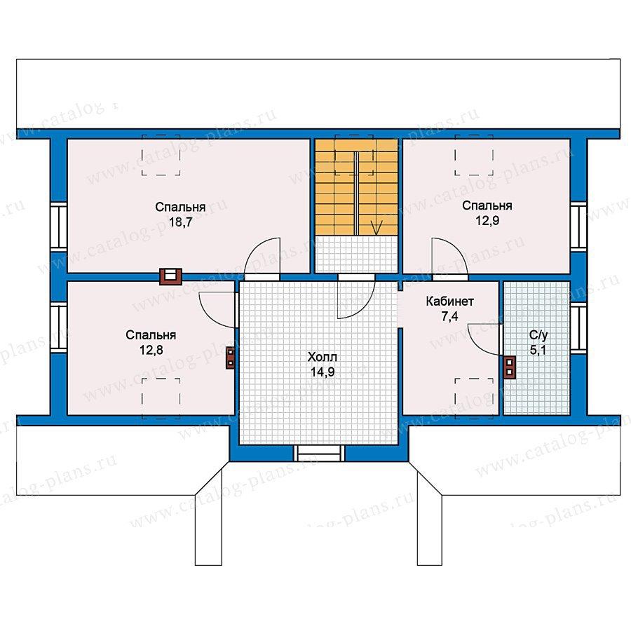 План 2-этажа проекта 59-31