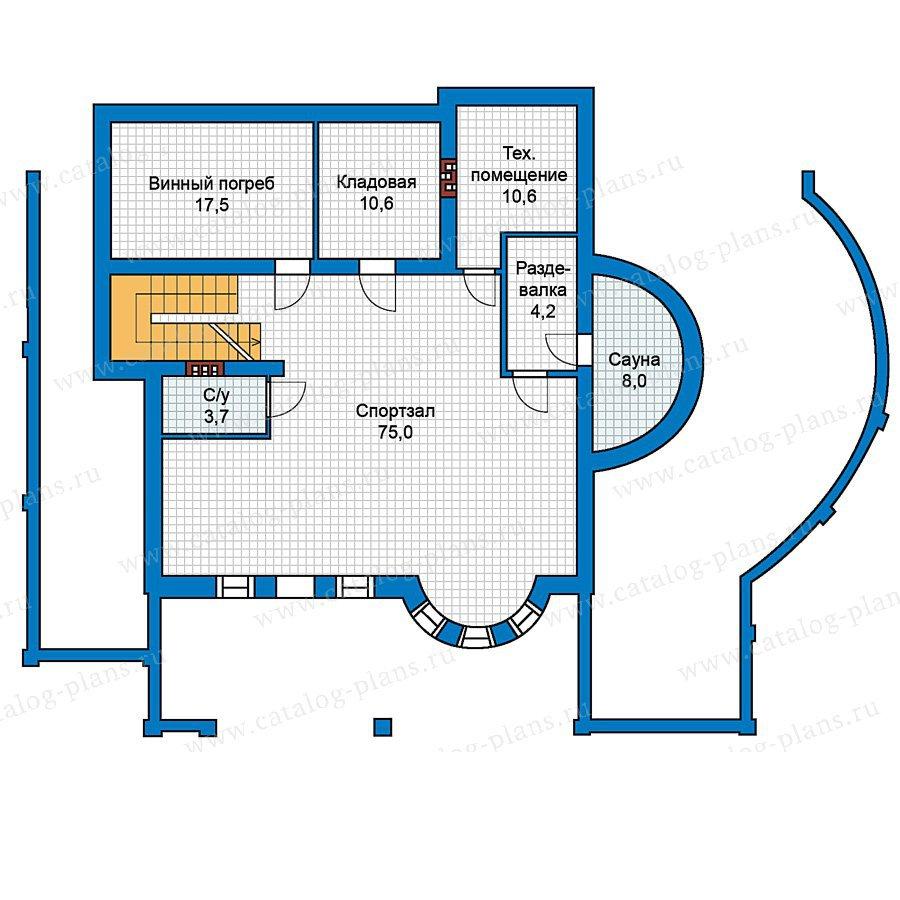 План 1-этажа проекта 59-42