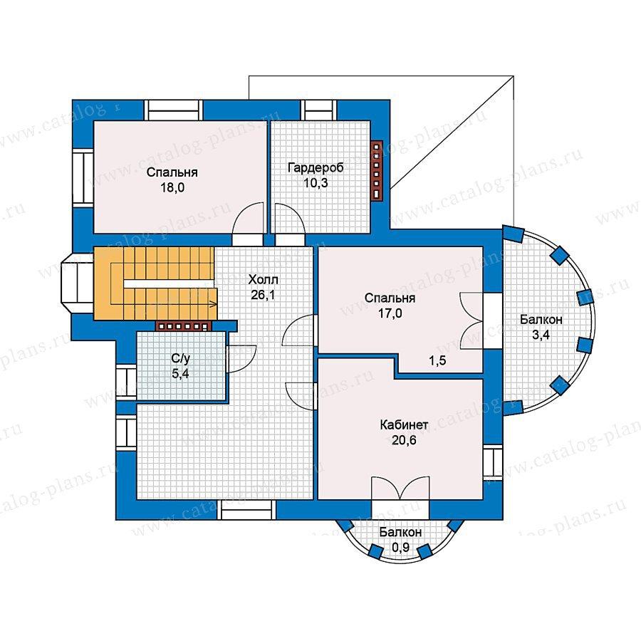 План 3-этажа проекта 59-42