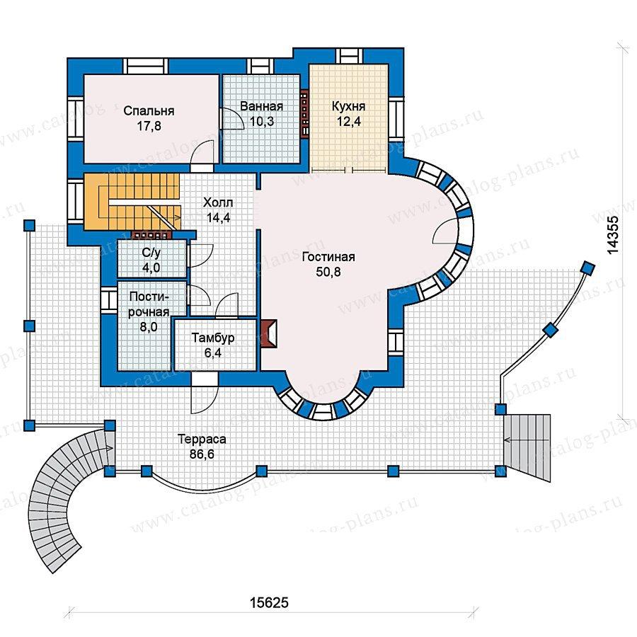 План 2-этажа проекта 59-42
