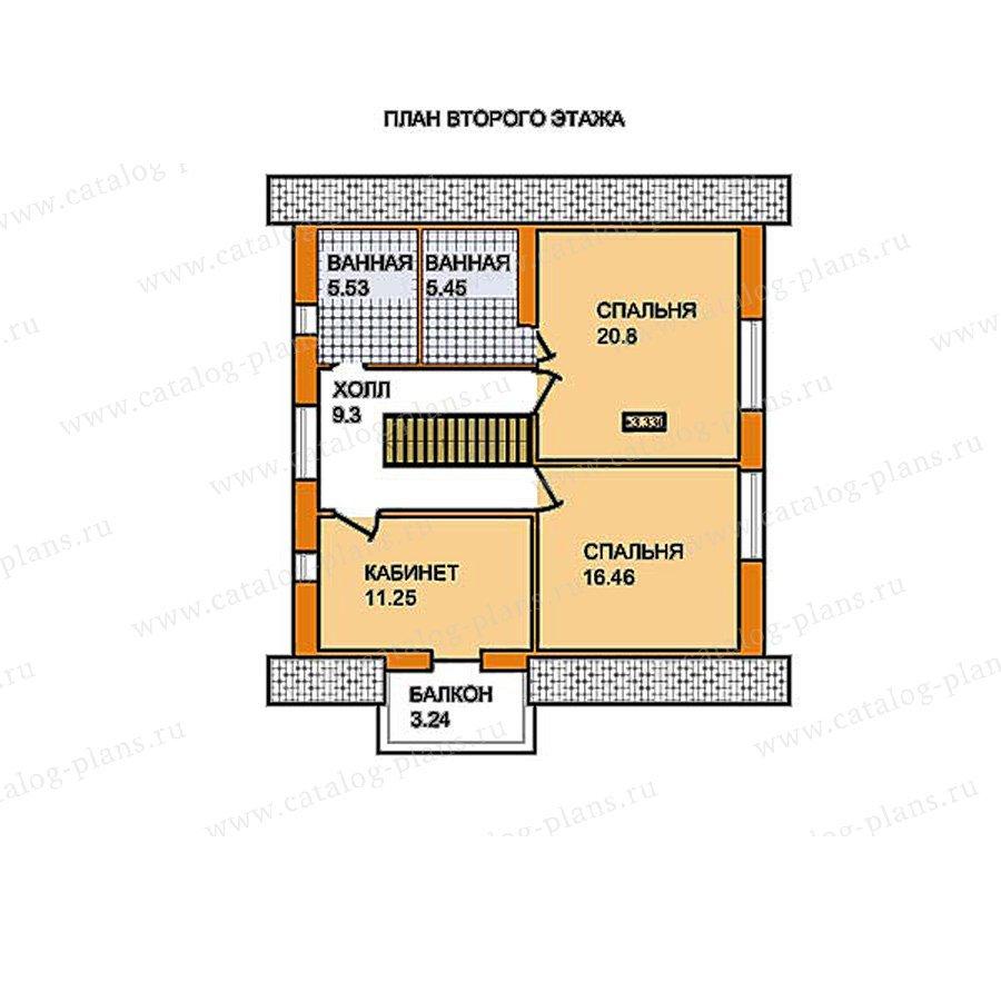 План 2-этажа проекта 59-51