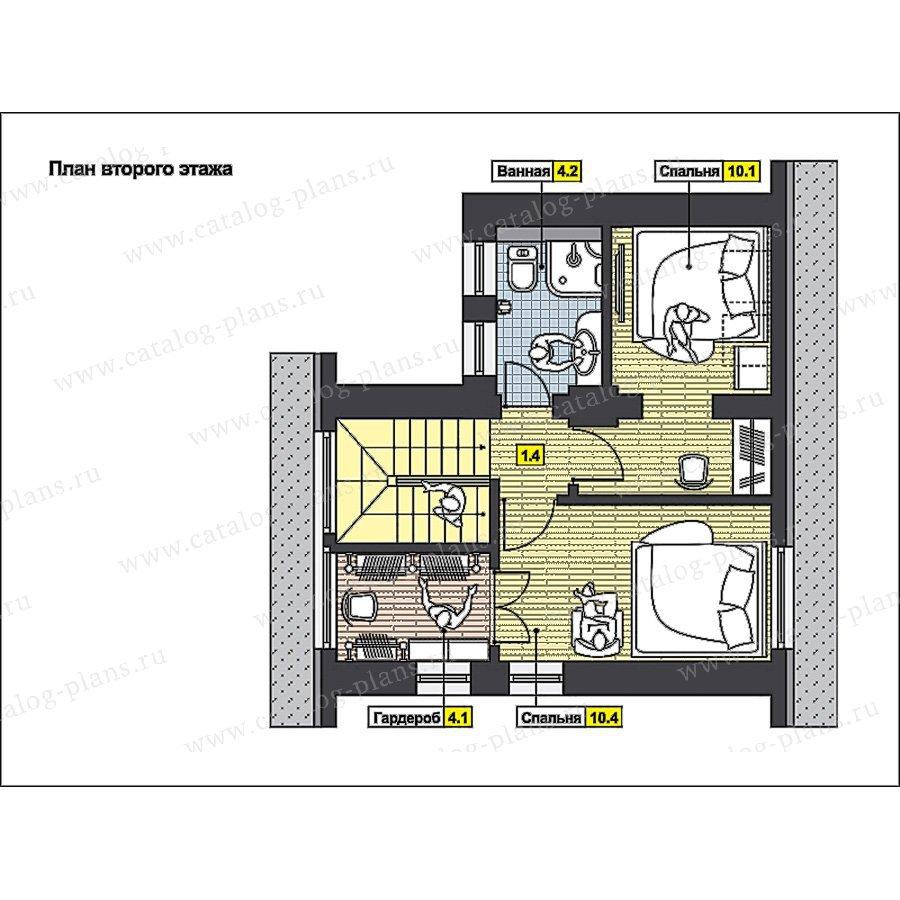 План 3-этажа проекта 59-66