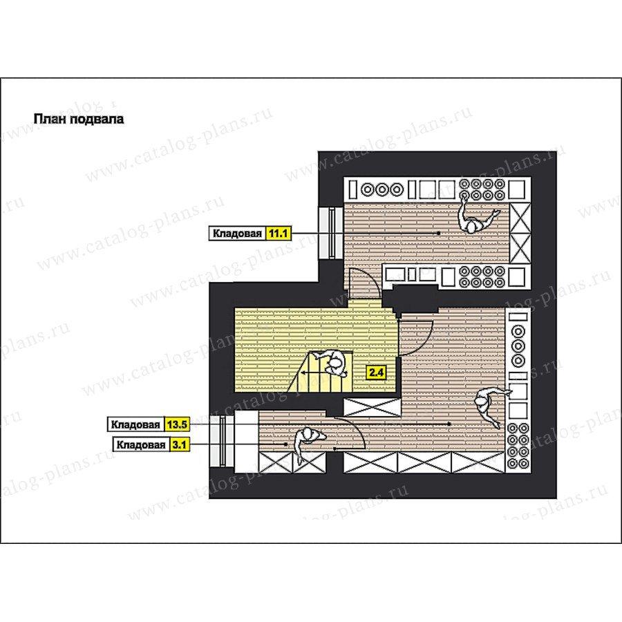 План 1-этажа проекта 59-66
