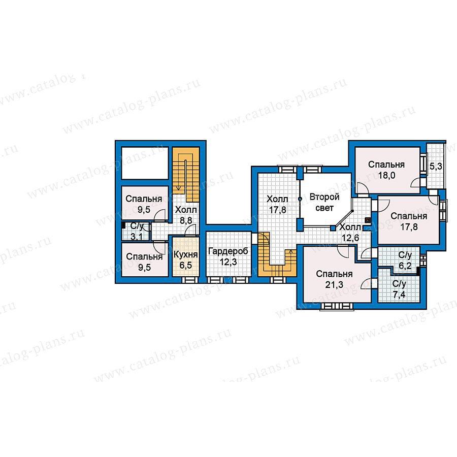 План 2-этажа проекта 59-60