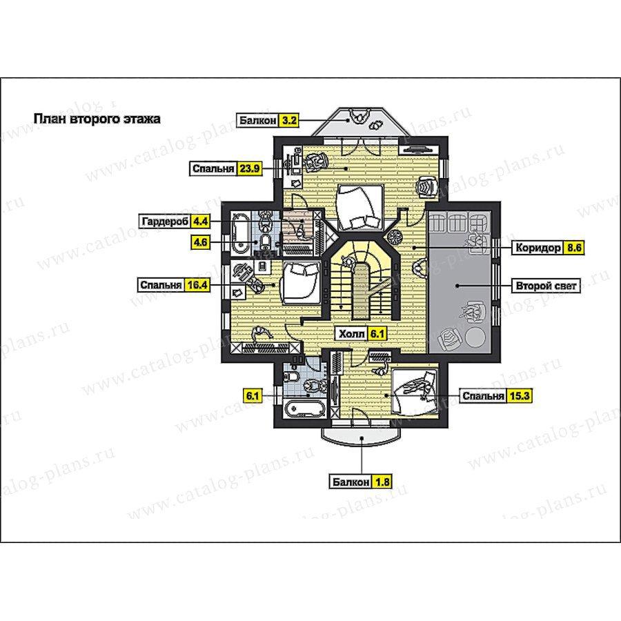 План 3-этажа проекта 59-78