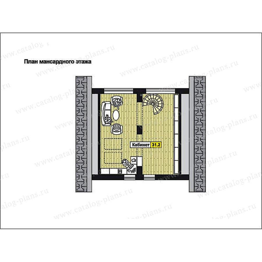 План 3-этажа проекта 59-77