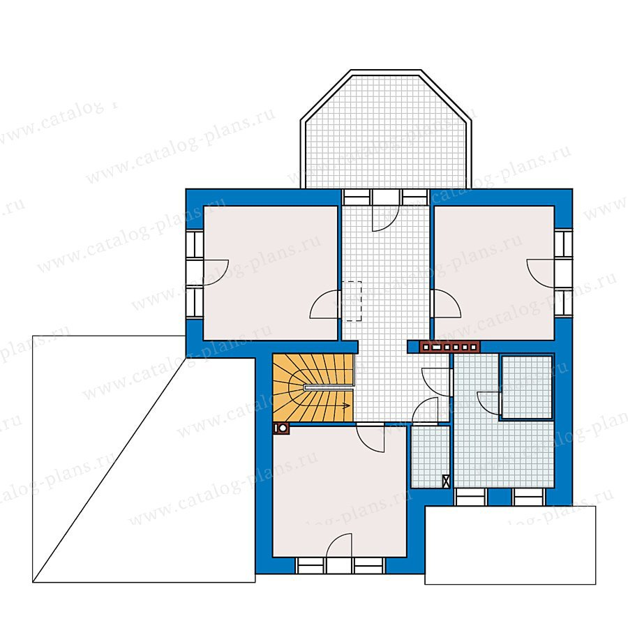 План 2-этажа проекта 49-11