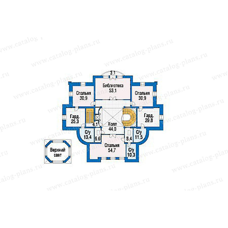 План 4-этажа проекта 39-23