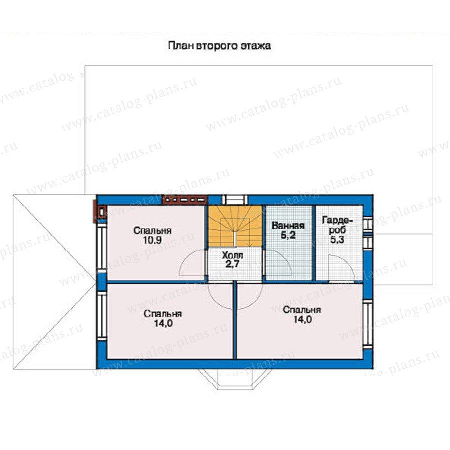 План 2-этажа проекта 37-32