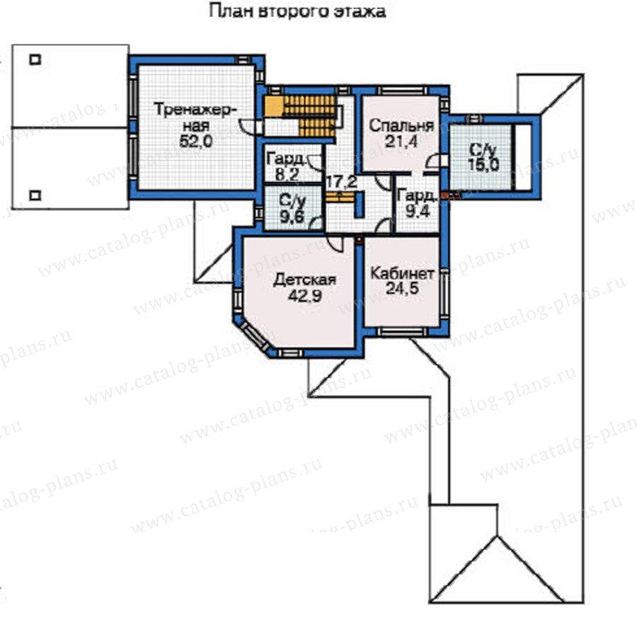 План 3-этажа проекта 37-63