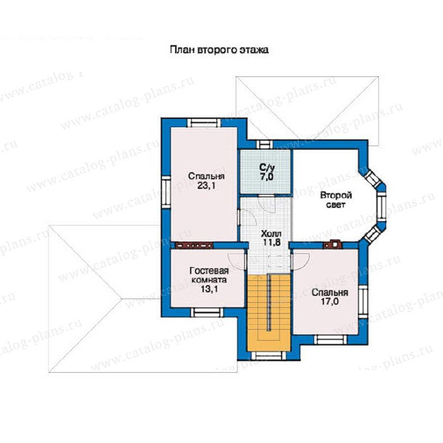 План 2-этажа проекта 37-36