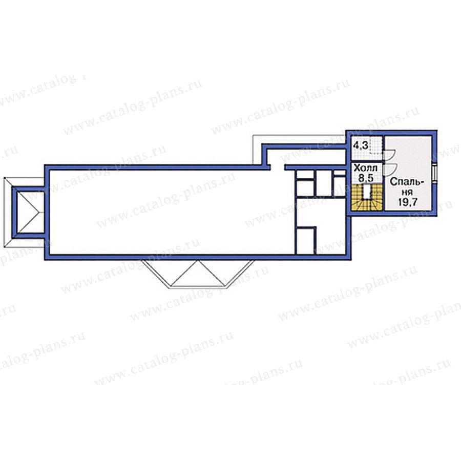 План 3-этажа проекта 37-65