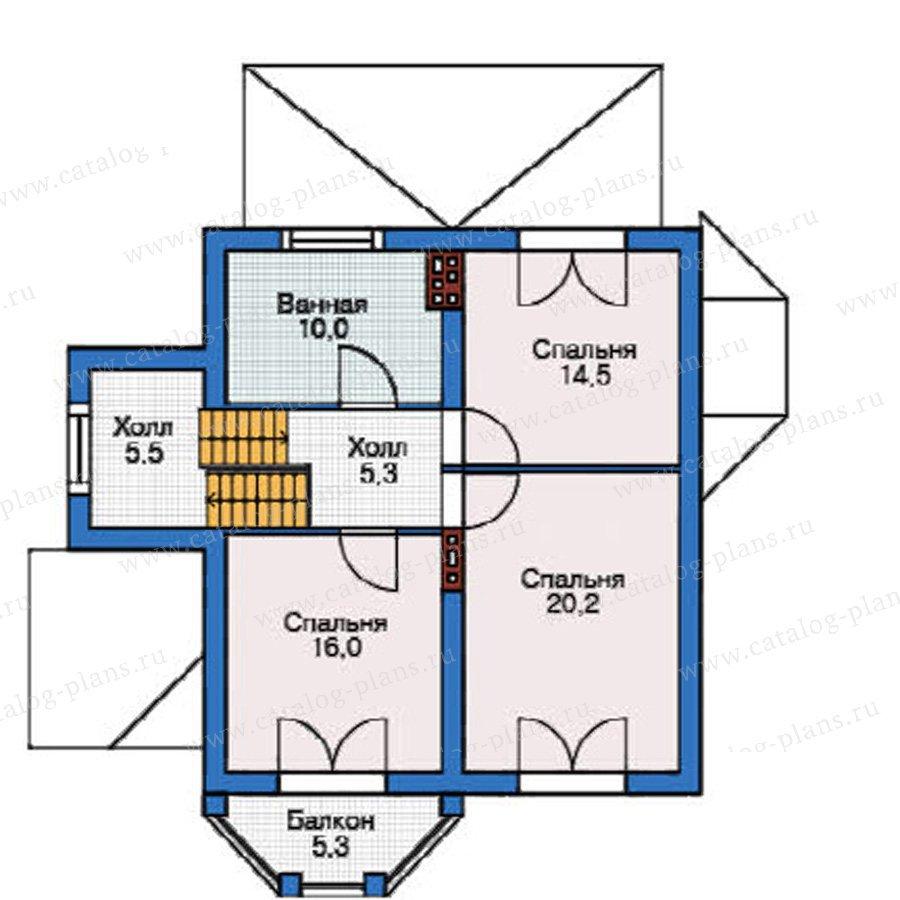 План 3-этажа проекта 37-68