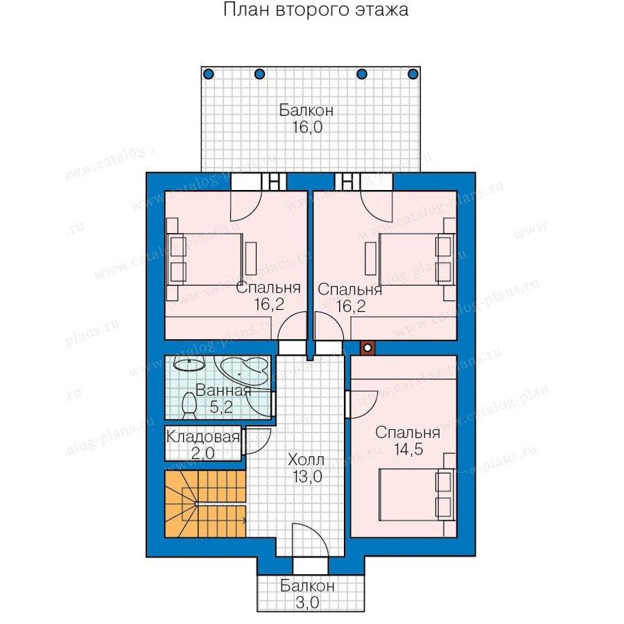 План 3-этажа проекта 60-72
