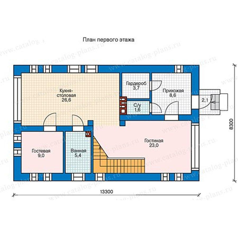 План 1-этажа проекта 60-69