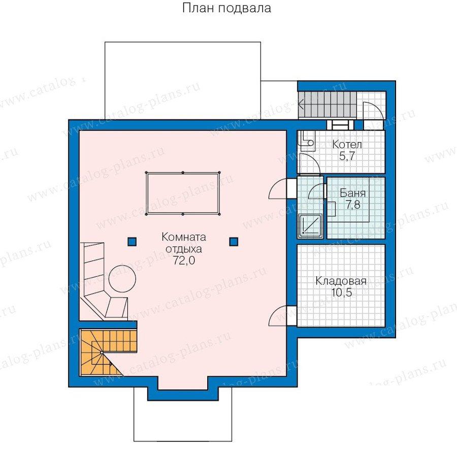 План 1-этажа проекта 60-72