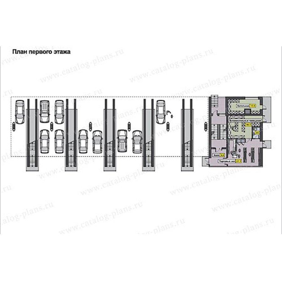 План 1-этажа проекта 60-68
