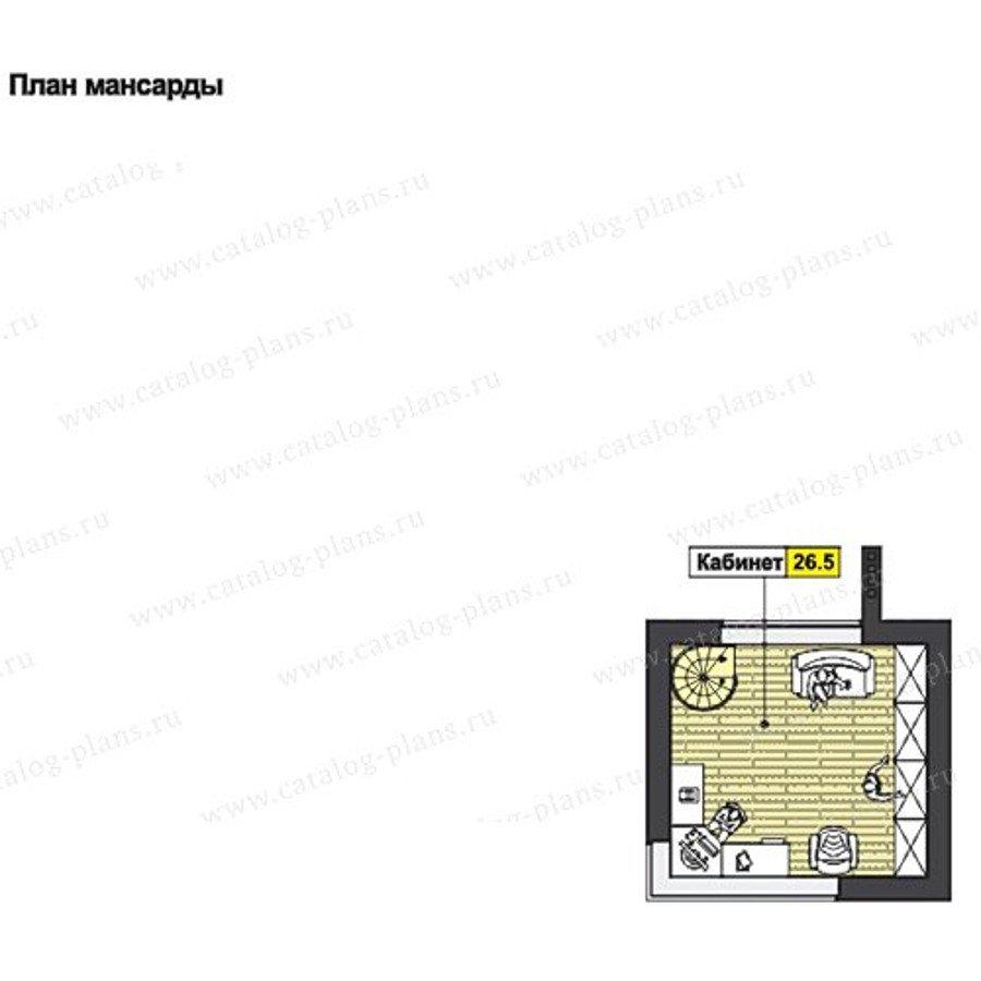 План 3-этажа проекта 60-66