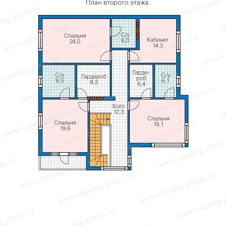План 3-этажа проекта 70-56
