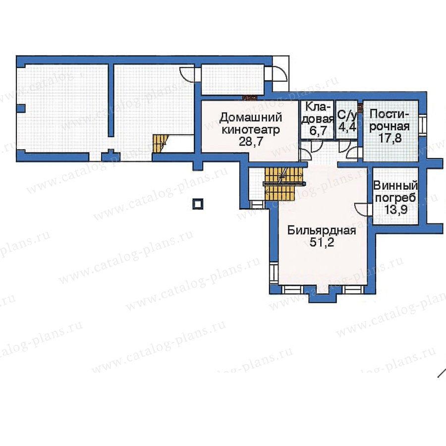 План 1-этажа проекта 36-02