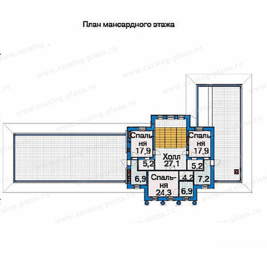 План 3-этажа проекта 36-67