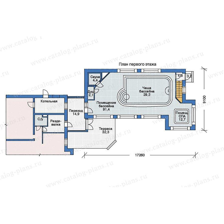 План 2-этажа проекта 35-96