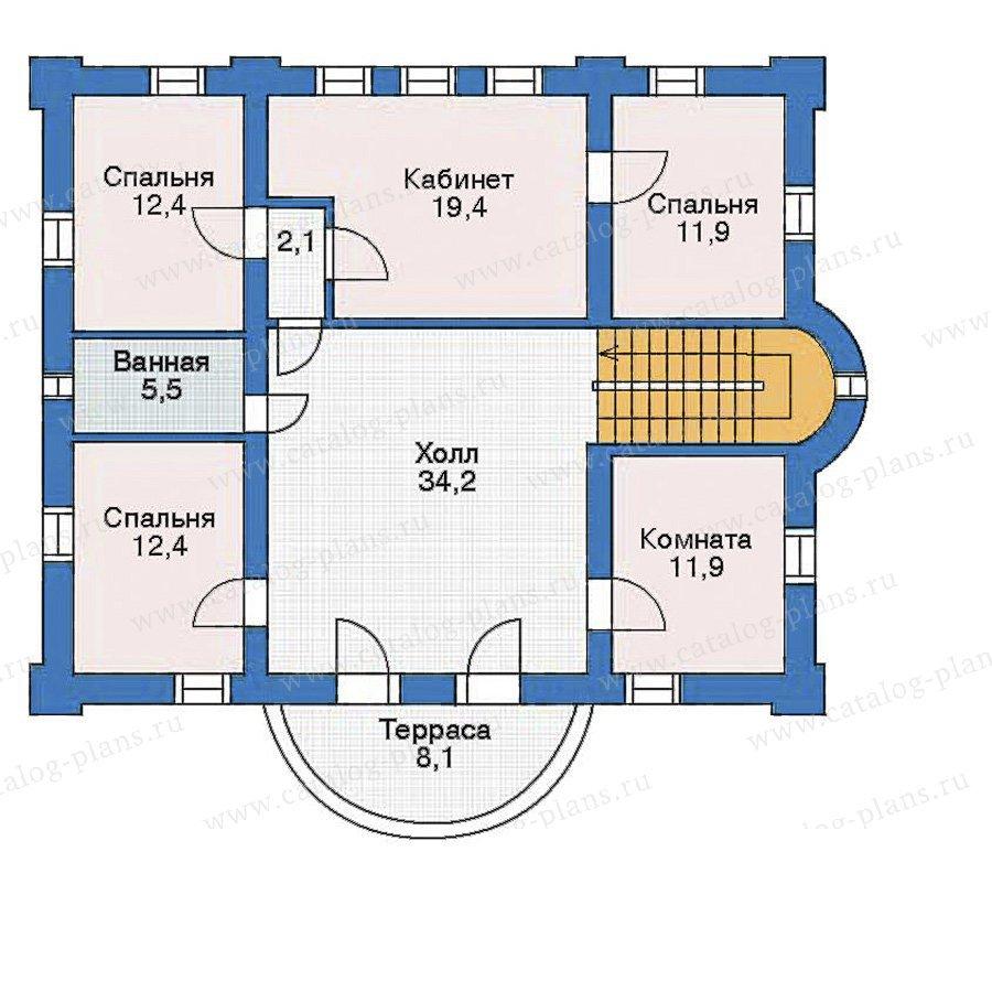 План 3-этажа проекта 35-47