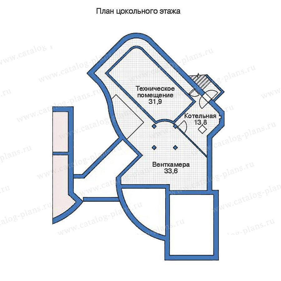 План 1-этажа проекта 35-93