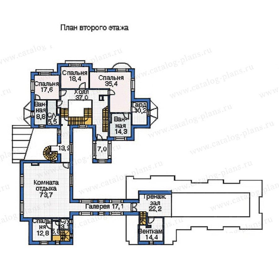 План 3-этажа проекта 35-79