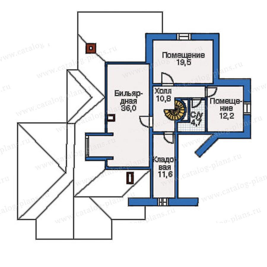 План 3-этажа проекта 35-12