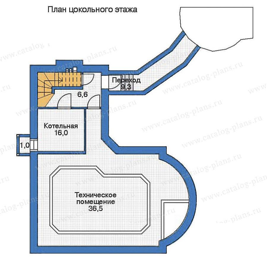 План 1-этажа проекта 35-94