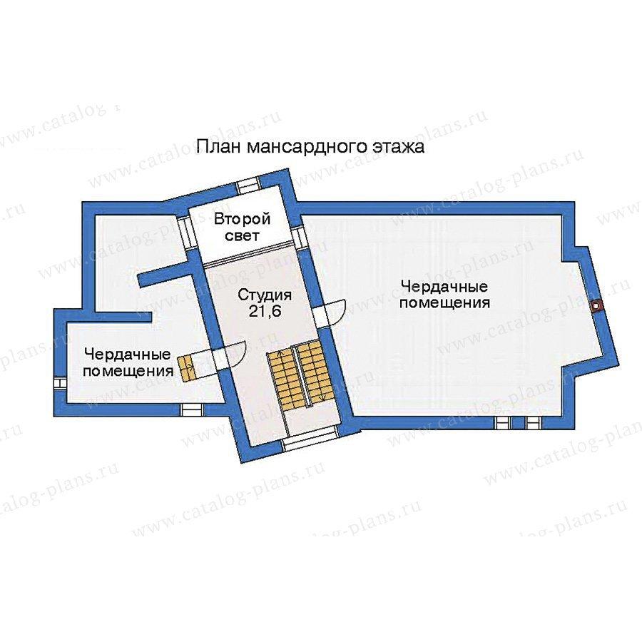 План 3-этажа проекта 35-53