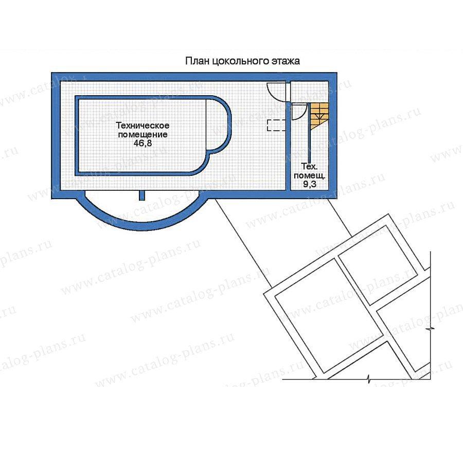 План 1-этажа проекта 35-98