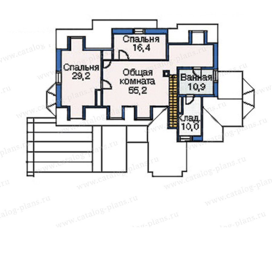 План 4-этажа проекта 35-79