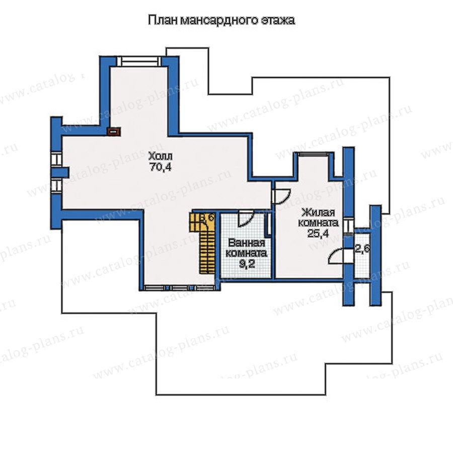 План 3-этажа проекта 35-07