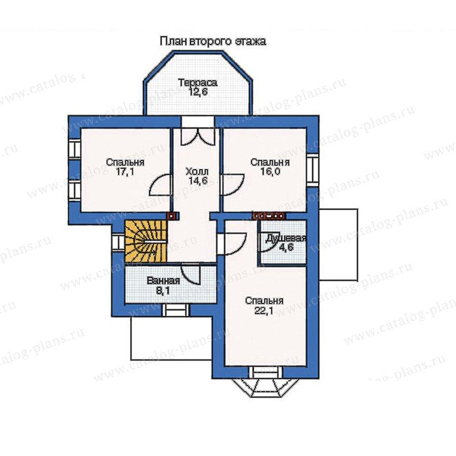 План 2-этажа проекта 35-31