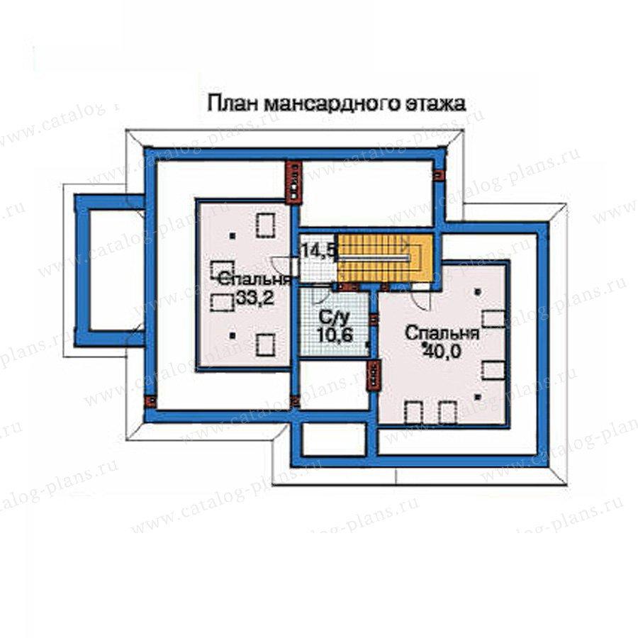 План 4-этажа проекта 35-82