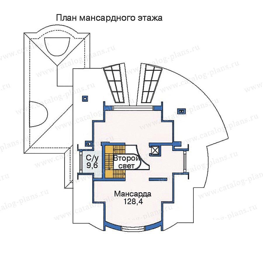 План 4-этажа проекта 35-33