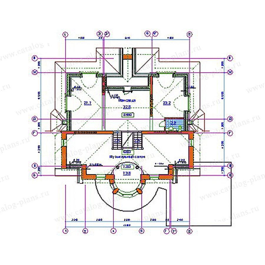 План 4-этажа проекта 34-22