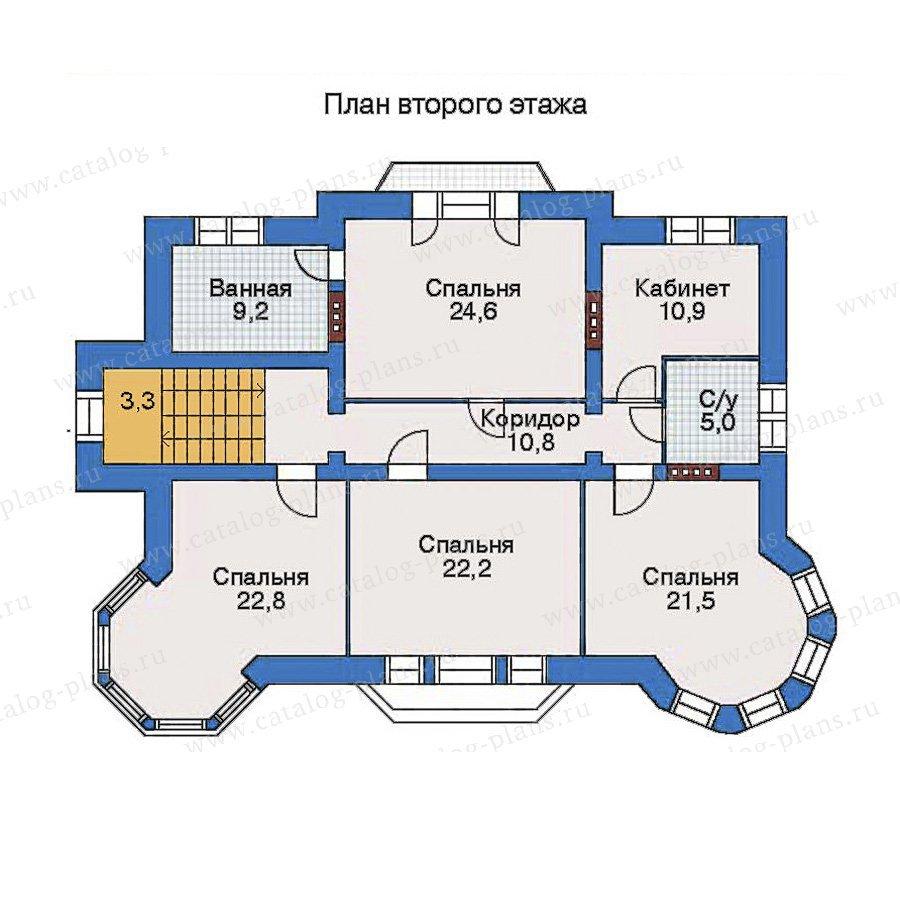 План 2-этажа проекта 34-47