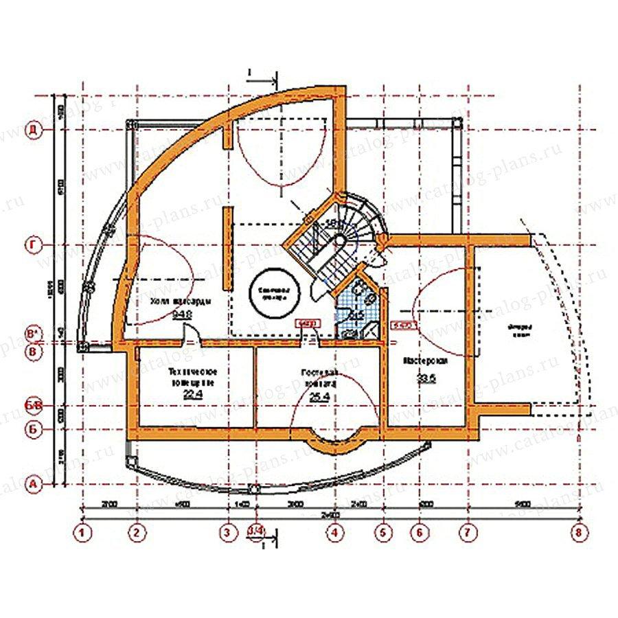 План 4-этажа проекта 34-19
